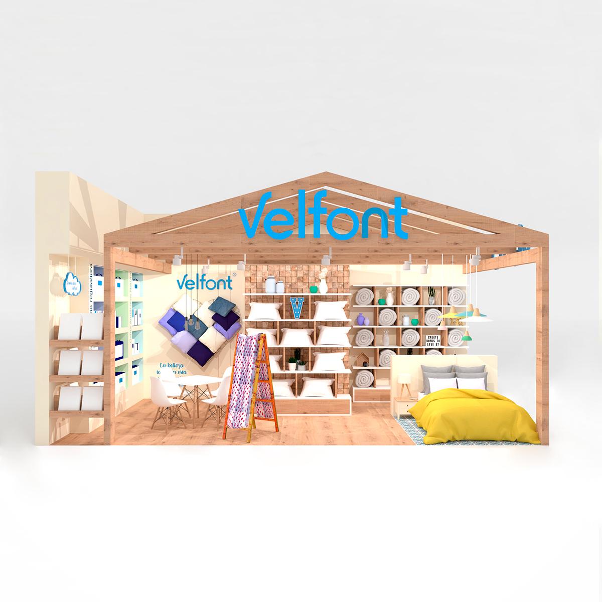 Stand para Velfont INTERGIFT 2018
